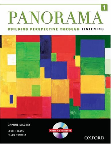 Panorama 1 Student Book and Audio CD: Building Perspective Through Listening