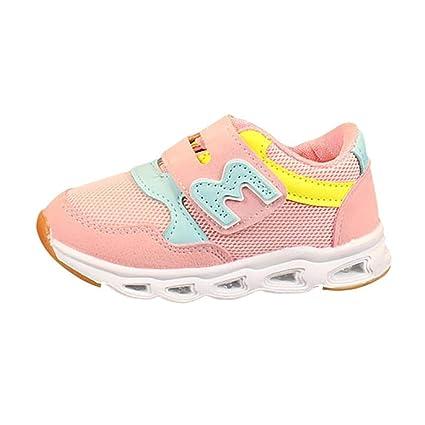 657868eb Zapatos niño con luces LED Zapatillas de gimnasia Niños Deportivas Zapatos  de trabajo niño niños jóvenes