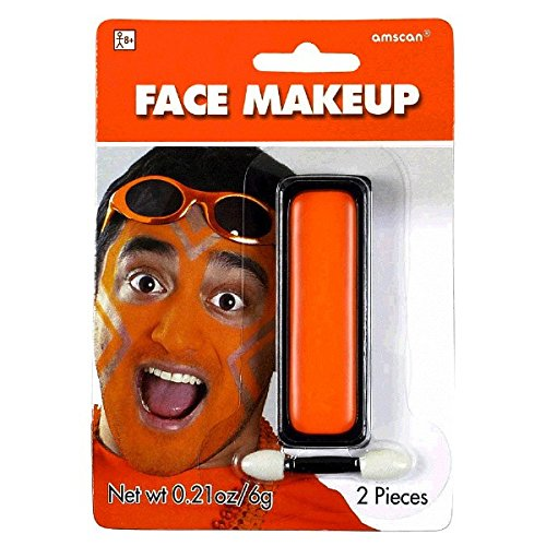 Orange Face Makeup, Party Accessory -