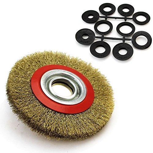 New 6-034-Brush-Steel-Wire-Wheel-Bench-Grinder-Criped-5-8-034-3-4-034-1-2-034-7-8-034-1-034-Lot-x-2 6-034-Brush-Steel-Wire-Wheel-Bench-Grinder-Criped-5-8-034-3-4-034-1-2-034-7-8-034-1-034-Lot-x-2 Have one to sell? Sell now 6