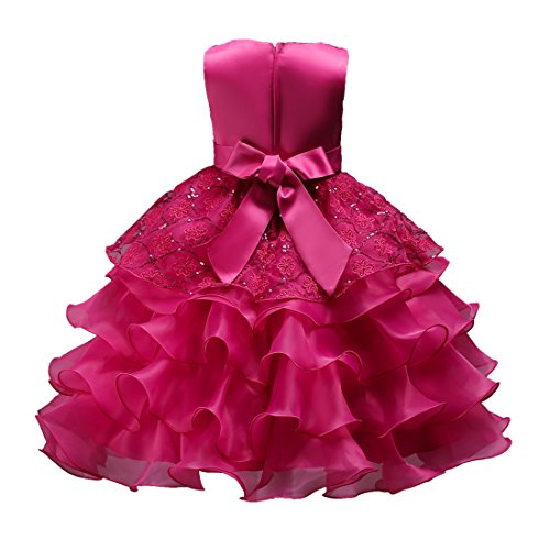 b3729596fc1b Dresses For Girl Elegant Maxi Pageant Party Dress Baby Girl s ...