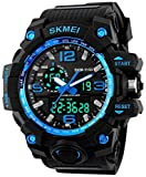 Gosasa Men's GOSK1155B S Shock Digital Quartz Black Watch