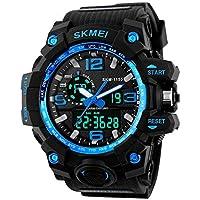 Gosasa Men's GOSK1155B S Shock Digital Quartz Black Watch