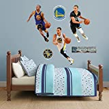 NBA Golden State Warriors Stephen Curry Hero Pack Fathead Real Big Decals, 4'4'' x 3'3''
