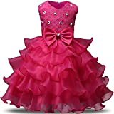 #3: NNJXD Girl Dress Kids Ruffles Lace Party Wedding Dresses