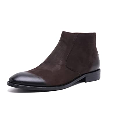 UNbox Mens Winter Leather Warmth Dress Oxfords Shoes