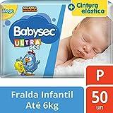 Fralda Infantil Descartável, Babysec, Galinha Pintadinha Ultrasec, Azul, P, 50 Unidades
