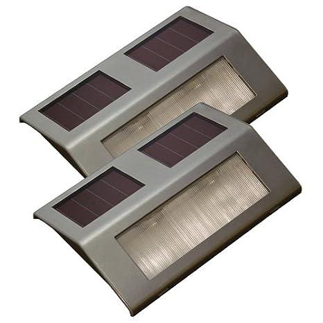 floon (TM) nueva 2 pcs energía Solar batería Sensor de movimiento puerta de seguridad