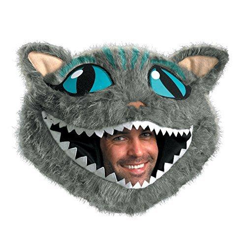 Disguise Men's Cheshire Cat Headpiece, Blue, XL -