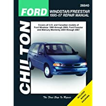 Ford Windstar/Freestar & Mercury Monerey, 2004-2007 (Chilton's Total Car Care Repair Manuals)