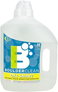 Boulder Clean Oxi-Smart Natural Stain Removing Booster, Citrus Breeze, 100 Fluid Ounce