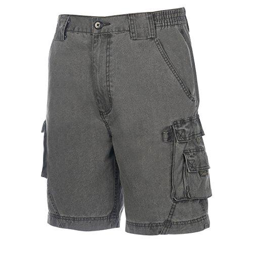 Weekender Men's GPS Cargo Short Charcoal 40 - Bealls Elastic Waist Shorts
