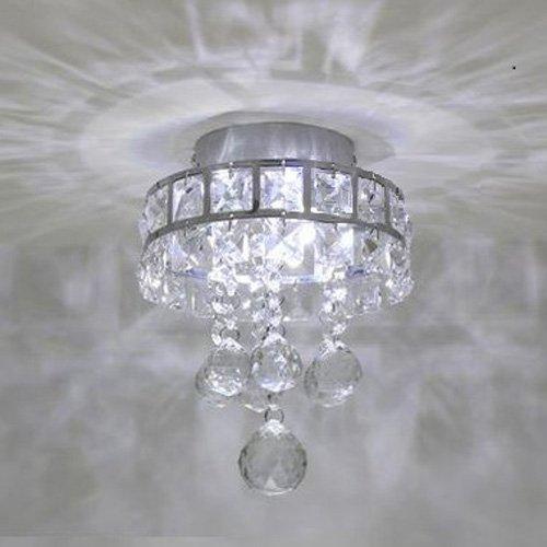 Mini style 3 light chrome finish crystal chandelier pendent light mini style 3 light chrome finish crystal chandelier pendent light for hallwaybedroomkitchenkids room aloadofball Images