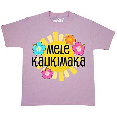 Mela 3 Light (inktastic Mele Kalikimaka Youth T-Shirt Youth X-Small (2-4) Light Pink 2de76)