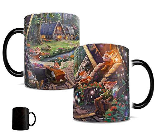 Snow White and the Seven Dwarfs Morphing Mugs Heat-Sensitive Mug