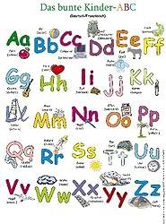 Das bunte Kinder-ABC. Poster: Deutsch /Französisch