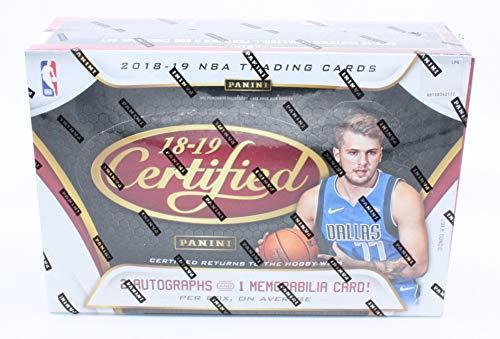 Box Hobby Nba - 2018-19 Panini Certified NBA Basketball Hobby Box