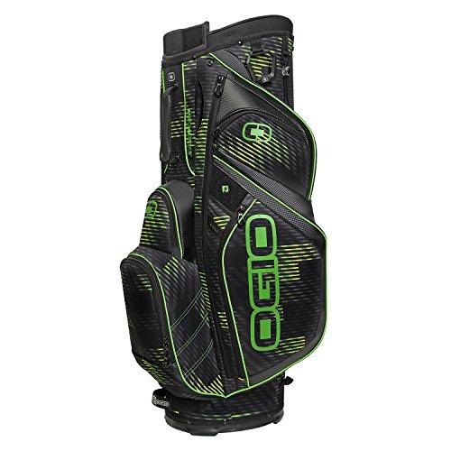 Ogio-124046727-Silencer-Cart-Bag-Buzz-Saw-Green