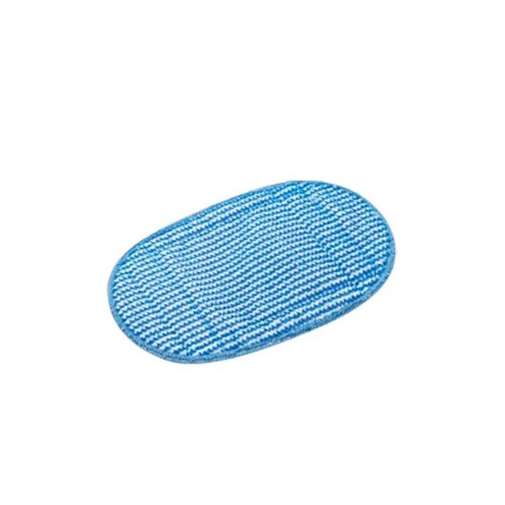pour syst/ème de nettoyage /à vapeur steamitt blanc//eau Decker fshsmps-xj Lot de chiffons de rechange en microfibre Louu 4/colis Black