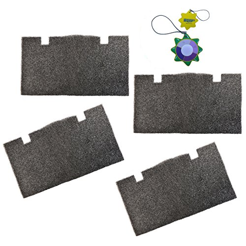 Penguin Duo (HQRP 4 pcs Foam Air Filter for Dometic Duo Therm Penguin 600312, 600315, 630025, 630035 Series Roof Top Air Conditioners & Heat Pumps + HQRP UV Meter)