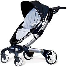 4moms Origami Color Kit-Stroller Insert - Silver