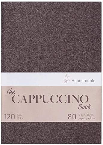 Schetsboek Hahnemühle The Cappuccino Book A4
