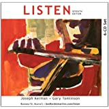 6-CD Set to Accompany Listen 7th (seventh) Edition by Kerman, Joseph, Tomlinson, Gary published by Bedford/St. Martin's (2011)