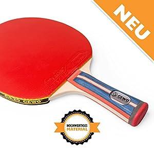 Tischtennisschläger konkav für Tischtennis Profis und Hobbyspieler von GEWO...