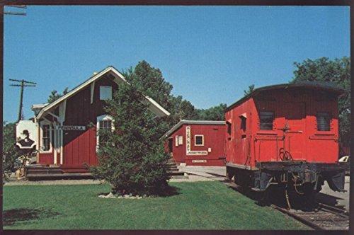 Summit County Depot Peninsula Ohio Railroad Station Caboose - Store Summit Ohio