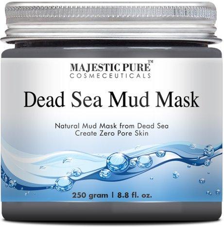 Masque de boue majestueuse mer morte Pure, Premium qualité nettoyant visage du Spa, 8,8 Oz