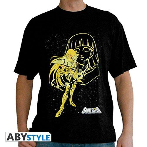 Saint Vierge Black Basic Shaka Tshirt Abystyle Seiya Mc De La Homme 7wPqnSAxFH