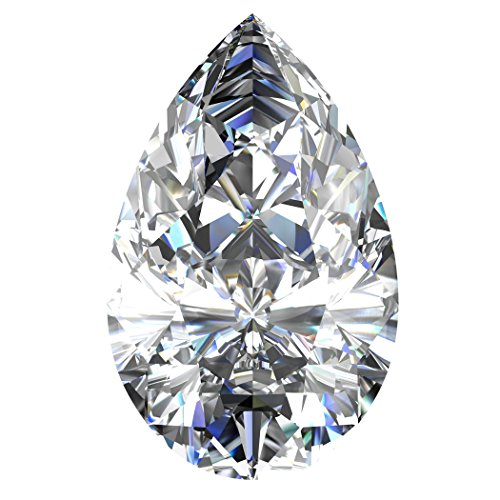 0.80 Ct Pear Diamond - 2