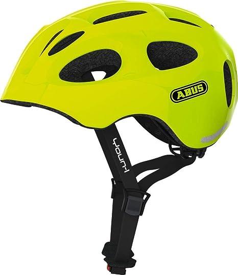 Abus Unisex - Casco de Bicicleta Youn-I para Adultos, Amarillo, 52 ...
