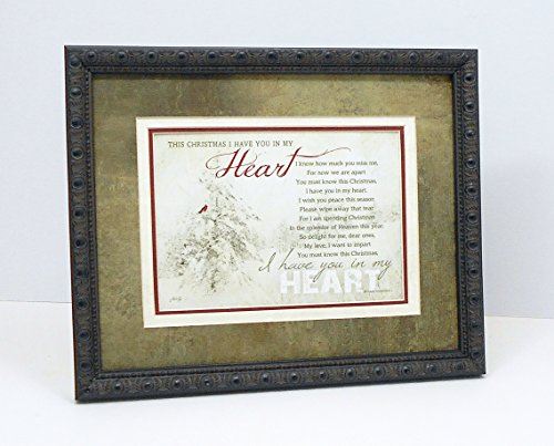 Christmas Poem Memorial Gift In Loving Memory of a Loved One During the Holidays