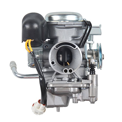 NIBBI RACING PARTS Replacement Orginal High Performance Speed Modified Carburetor Big Bore CVK26MM GY6 Engine Scooter 150CC-200CC