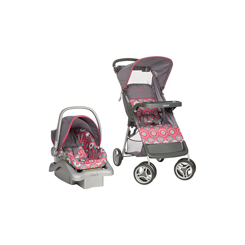 Cosco Lift and Stroll Travel System, Pos
