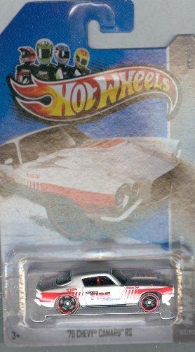 Hot Wheels 2012-163 HW City '70 Chevy Camaro RS WHITE (Kokomo Fire Dept) 1:64 Scale]()