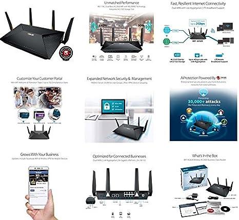 ASUS BRT-AC828 - Router Dual-WAN AC2600 para Empresa (Servidor y ...