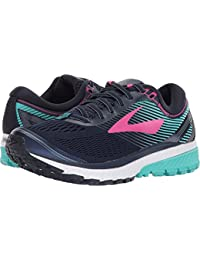 Women's Ghost 10 Navy/Pink/Teal Green 7.5 B US
