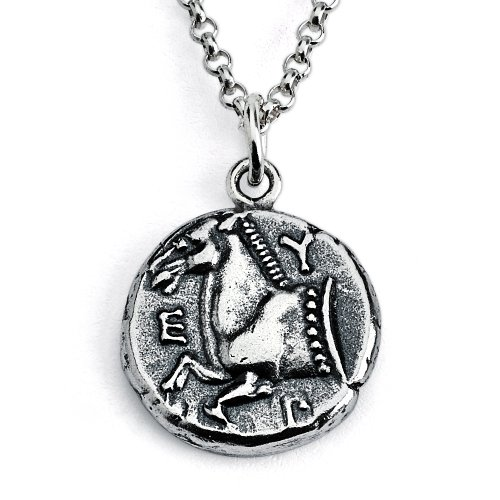 925-sterling-silver-replica-greek-thrace-of-maroneia-coin-pendant-necklace-22-inches