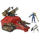 G.I. Joe: Sigma 6 - Cobra H.I.S.S. Tank with Cobra Commander and HISS Trooper 2.5 Inch Action Figures