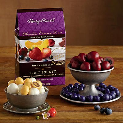 Milk Chocolate-Covered Fruit Medley - Gift Baskets & Fruit Baskets - Harry and David