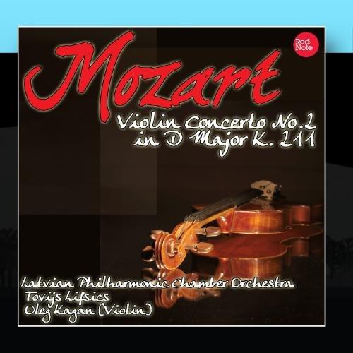 Price comparison product image Mozart: Violin Concerto No.2 in D Major K. 211