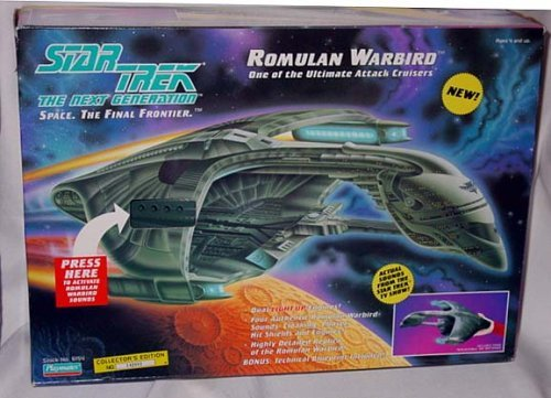- Star Trek The Next Generation Romulan Warbird