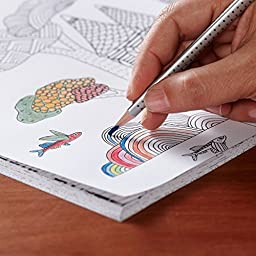 HERO Watercolor Pencils Set of 72 With Tin Case, For Sketch Coloring Pages And Books (Free Brush Included)