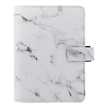 Filofax 2019 Personal Organizer, Patterns Marble, 6.75 x 3.75 inches (C028701-19)