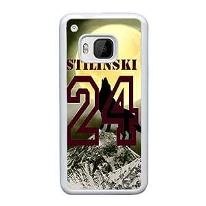 Design Cases HTC One M9 Cell Phone Case White Teen Wolf Stilinski 24 Wkxxib Printed Cover