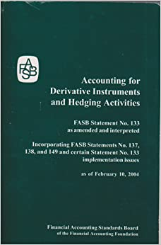 Accounting For Derivative Instruments And Hedging Activities