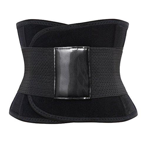 Rosfajiama transpirable posnatal maternidad apoyo cinturón cintura adelgazamiento Shaper envoltorio cinturón negro