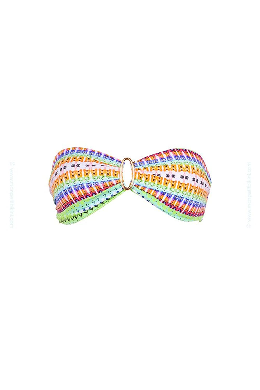 Top swimsuit Kiwi Bandeau Oceane Multicolor